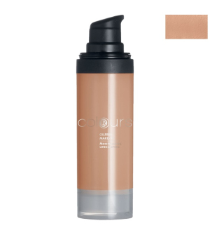 LR Colours Bezolejový make-up odtieň Dark Sand - 30 ml