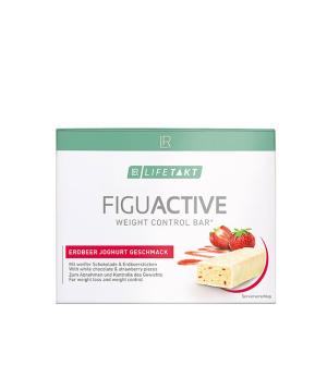 LR Lifetakt Figu Active Tyčinka s Jahodami a Jogurtem 6 x 60 g